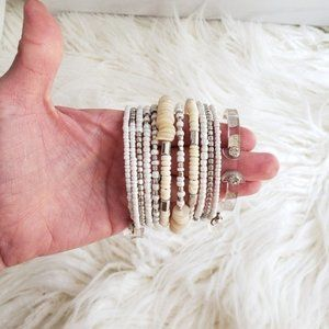 Goes with anything wrap bracelet and skinny